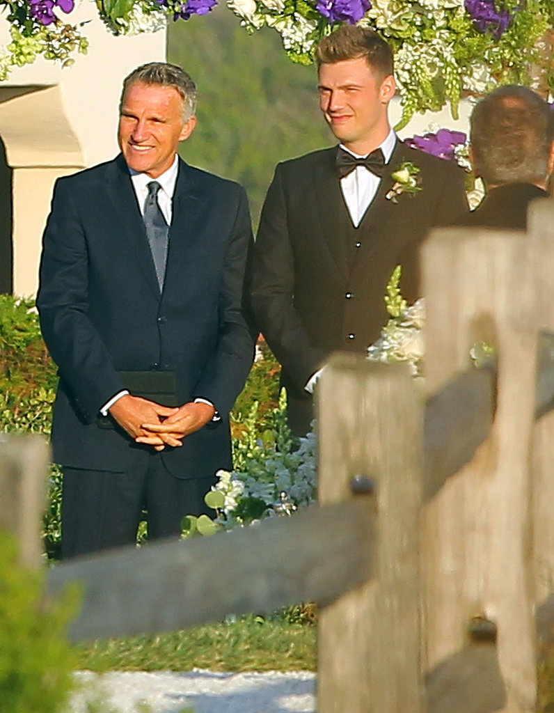 Nick Carter boda