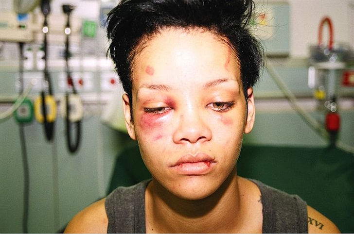 Rihanna agredida por Chris Brown