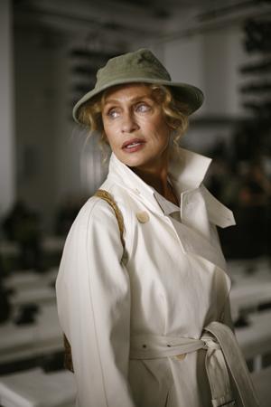 Lauren Hutton, la modelo de Calvin Klein de 73 años