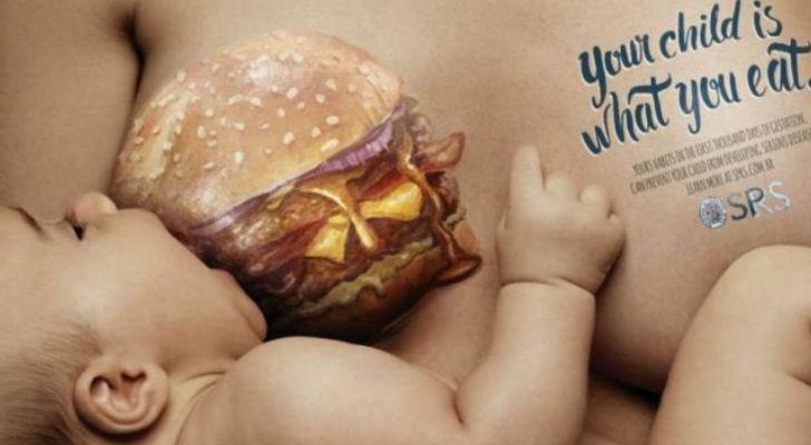 Campaña alimentación en el embarazo
