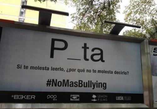 Campañas contra el bullying