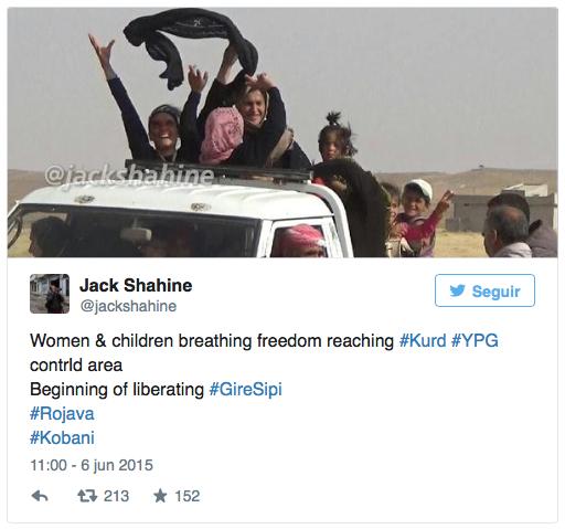 Mujeres sirias se desprenden del burka