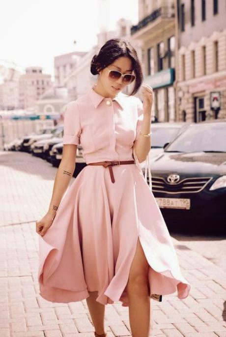 Por qu el rosa empolvado es el color de este verano - Color rosa empolvado ...