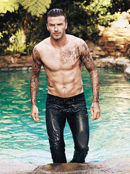 David Beckham desnudo, el hombre más sexy del mundo 2015