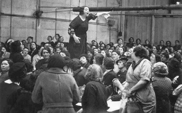 Fotos históricas del Día Internacional de la Mujer
