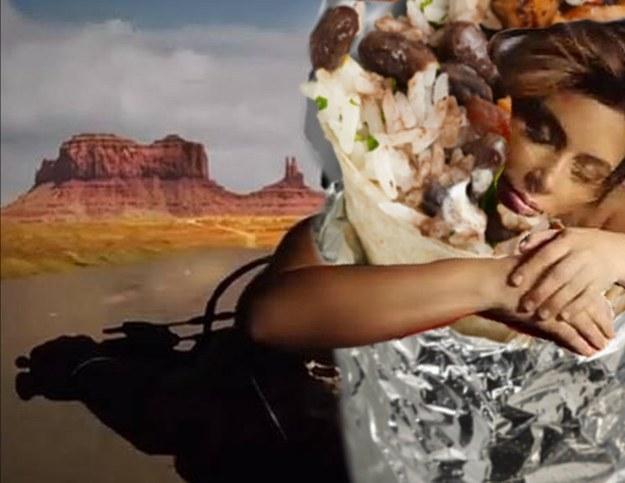 Escenas de amor míticas pero con un burrito