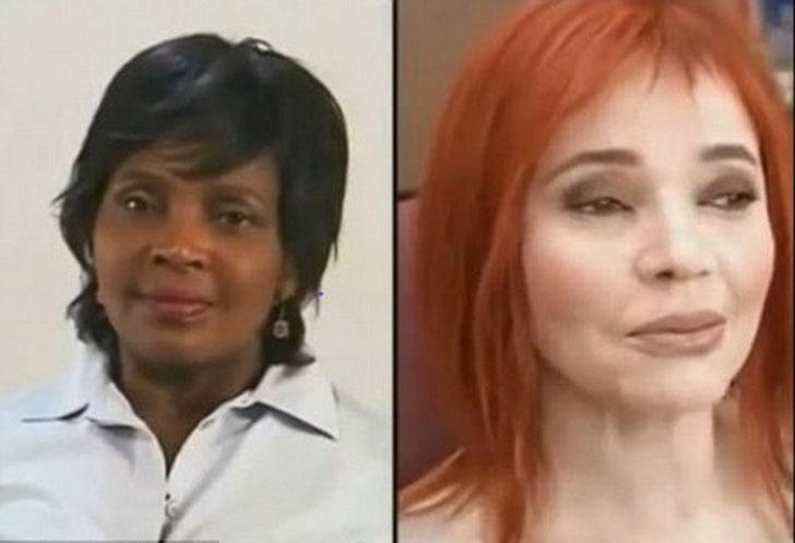 Maquilladores transforman a negros en blancos