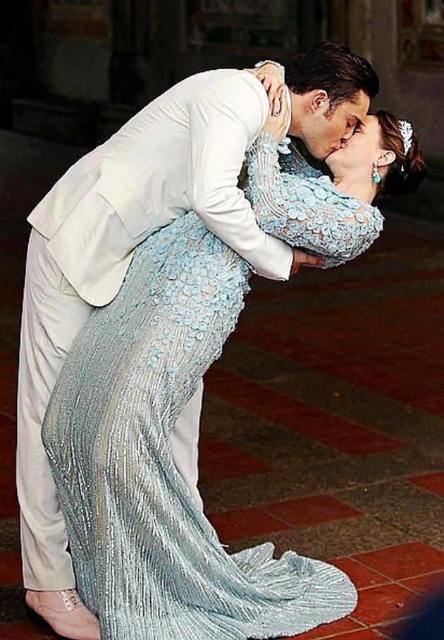 Foto 2 de blair waldorf el vestido de novia el peinado y for Last season wedding dresses