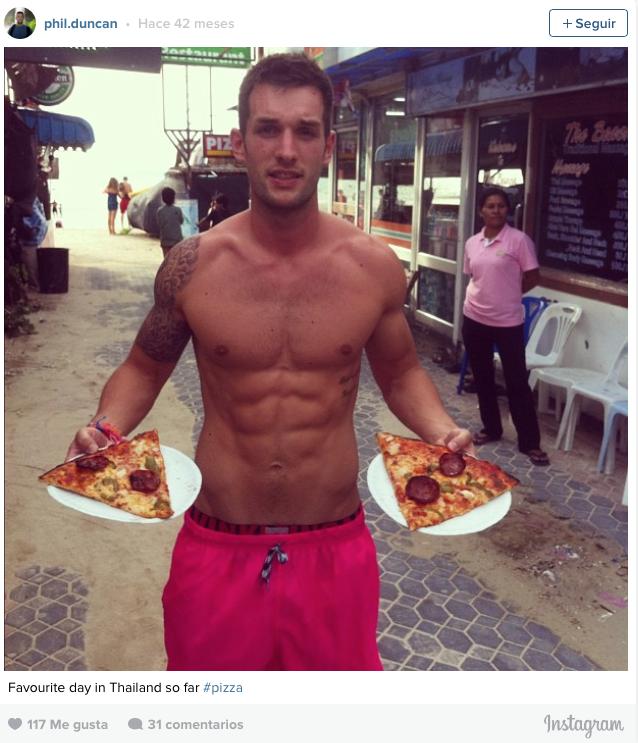 Se recorre el mundo comiendo pizza