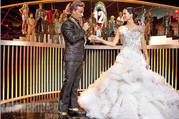 fotos del vestido de novia de katniss en en llamas | estarguapas