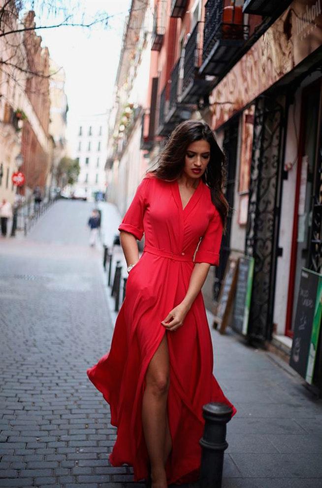 Look Vestido Rojo Corto Boda Vestidos Populares De España 2019