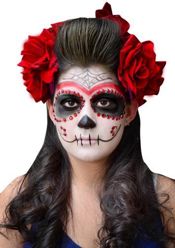 Disfraz de muerte mexicana o catrina para este halloween for Caretas disfraces