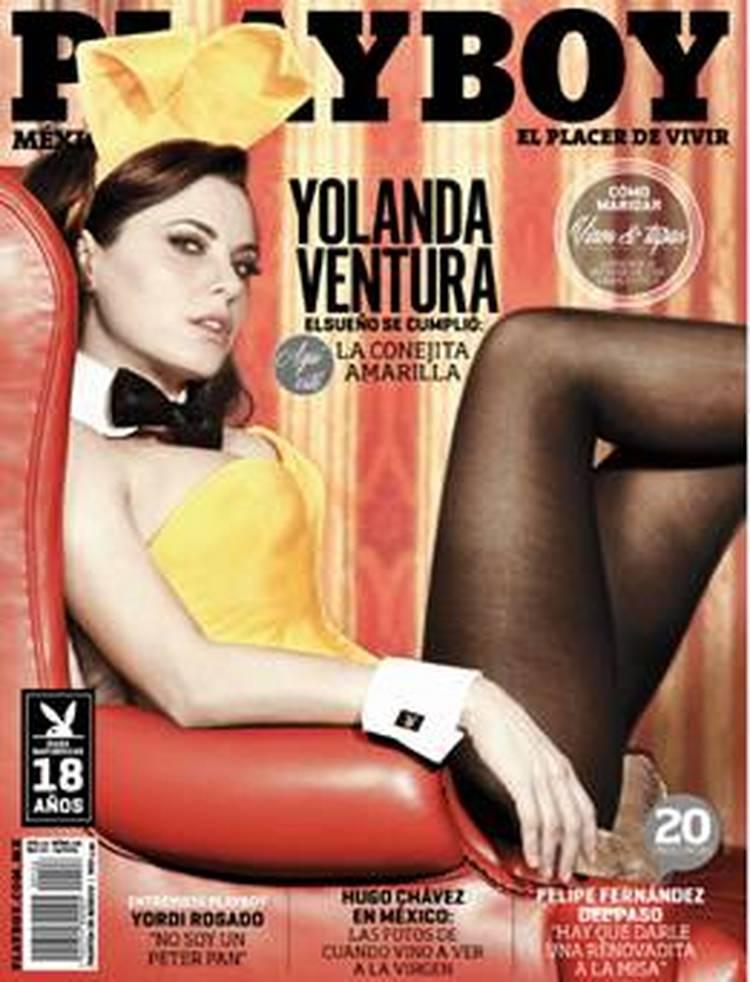 Yolanda Ventura, de ficha amarilla en Parchís, a conejita en Playboy