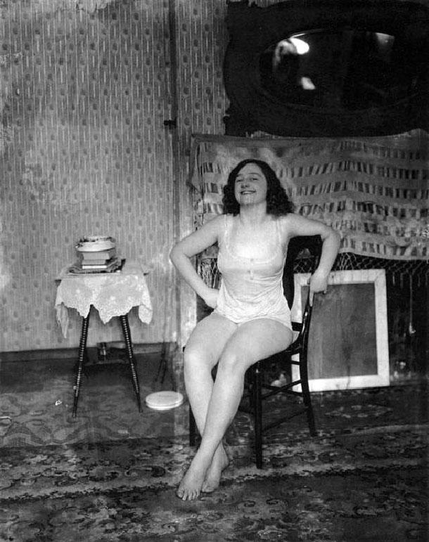 Retratos de prostitutas del siglo XX, de John Ernest Joseph Bellocq