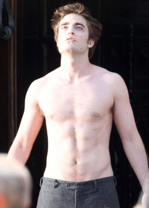 Robert Pattinson DESNUDO