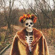 Skellie, el esqueleto de Instagram