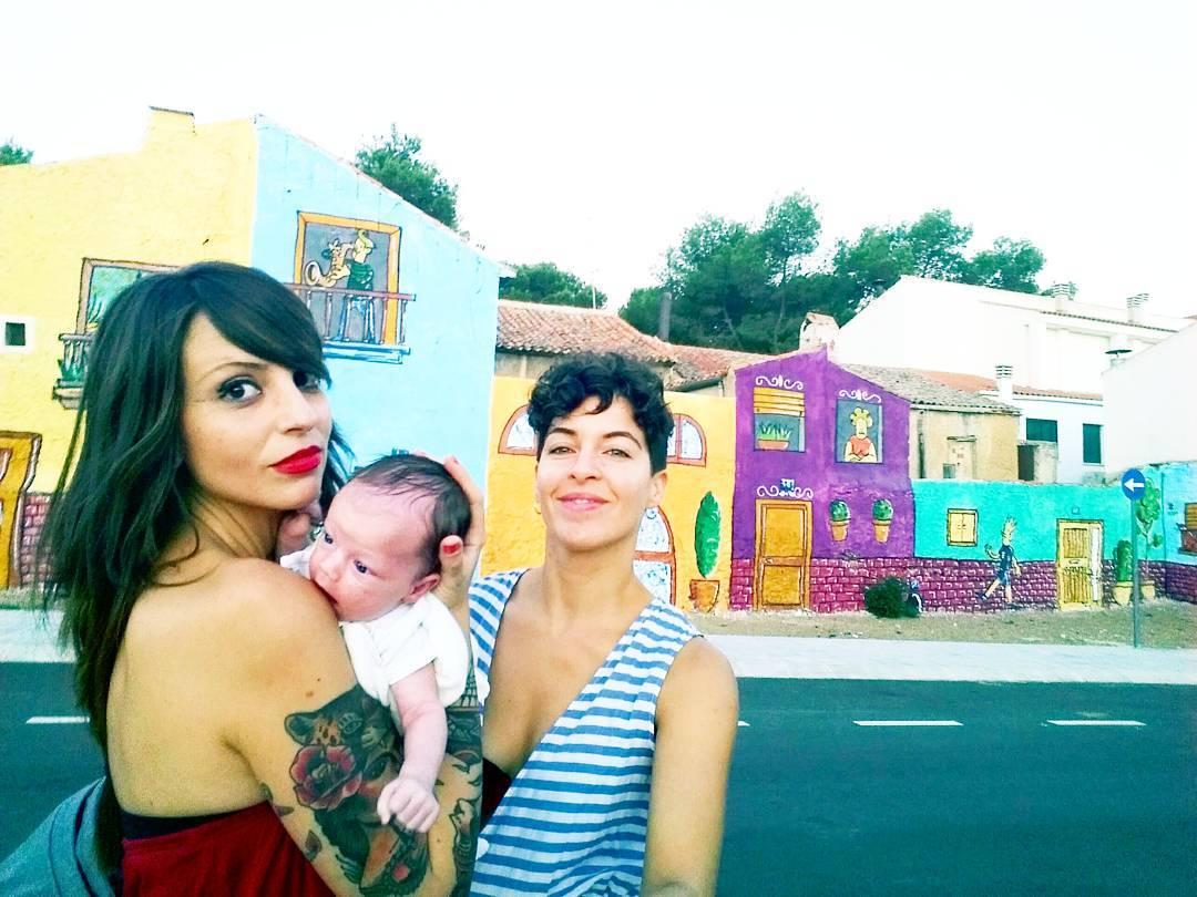 Jara y Verónica publican sus fotos familiares en Instagram