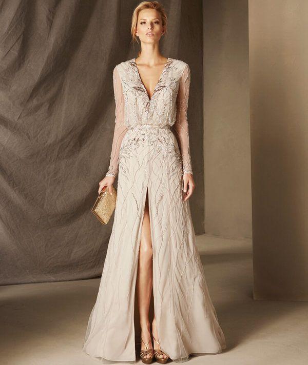 Vestidos muy elegantes para madrina de boda