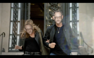 Kate Moss y Terry Richardson para Mango