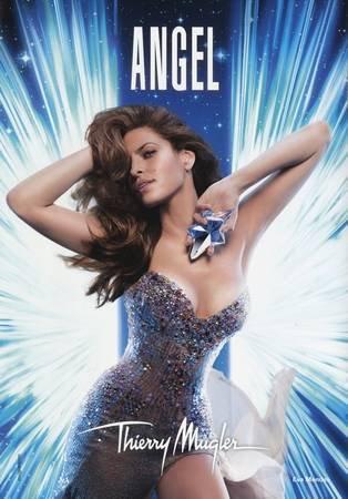 Eva Mendes imagen de Angel de Thierry Mugler