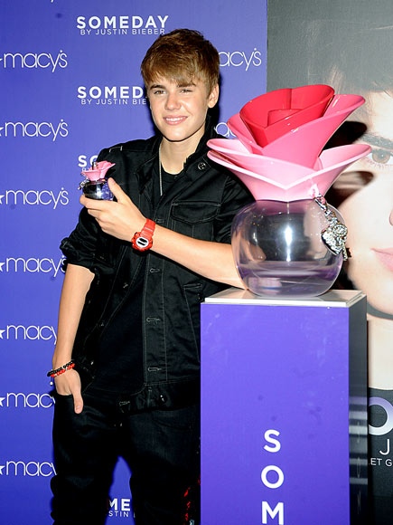 Justin Bieber presenta fragancia, Someday