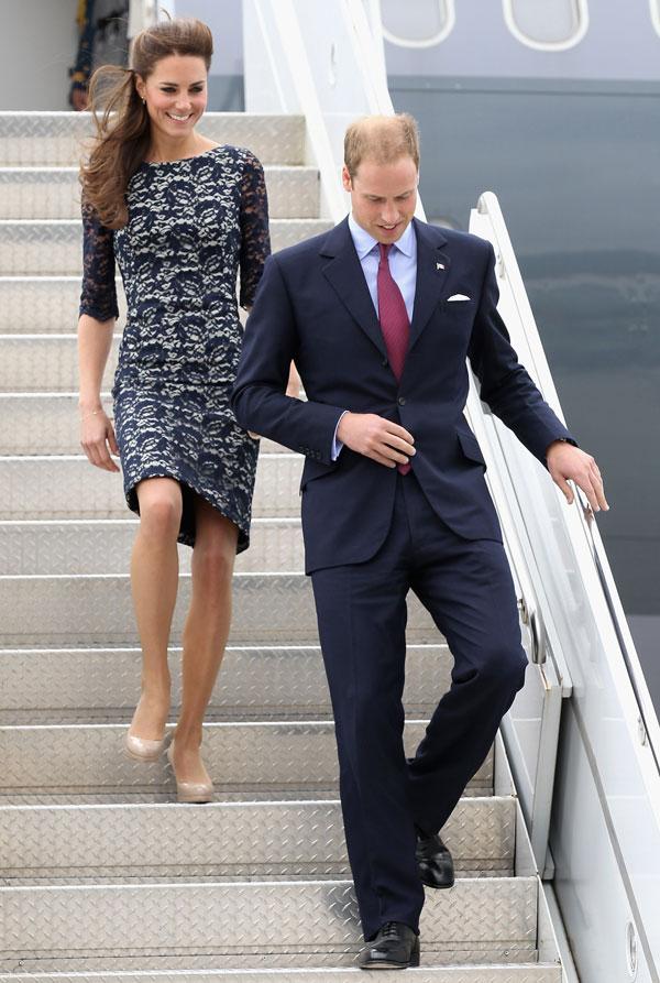 Kate Middleton les hace la pelota a los canadienses y escoge el diseño de uno de sus modistos