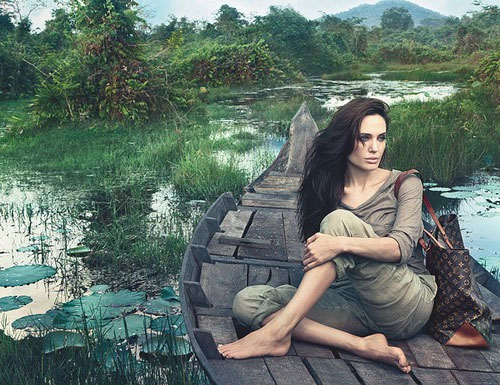 El anuncio de Angelina Jolie para Louis Vuitton