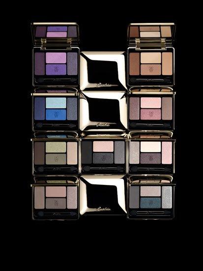 Paletas de sombras de Guerlain colección Otoño 2011