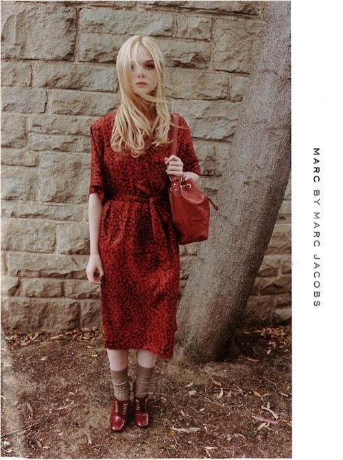 El retorno de las niñas modelo, Elle Fanning para Marc by Marc Jacobs