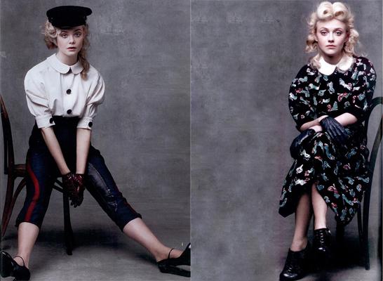 Las nuevas hermanas de moda: las Fanning