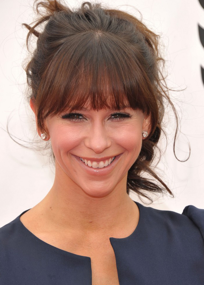 Jennifer Love Hewitt y el flequillo perfecto