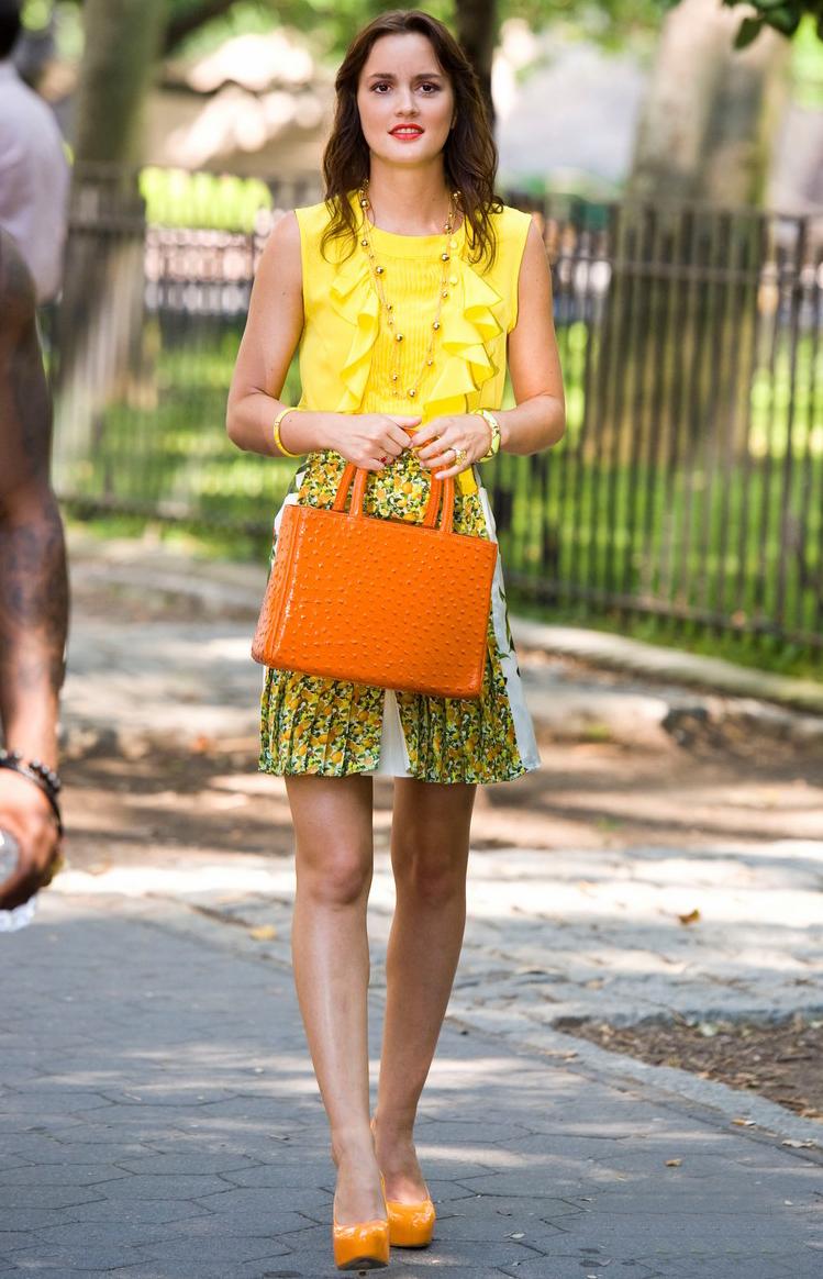 Leighton Meester vuelve a meterse en el papel de Blair Waldorf