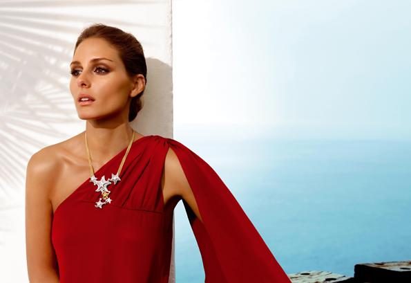 Olivia Palermo luciendo joyas de Carrera y Carrera