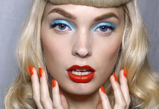 El color block llega hasta a nuestro maquillaje
