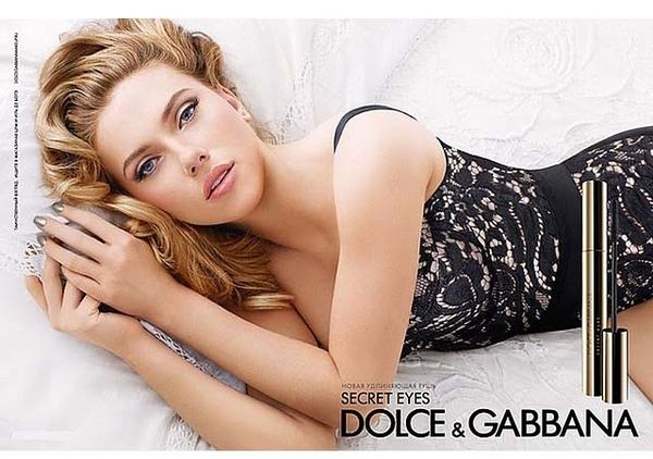 Scarlett para Dolce & Gabbana
