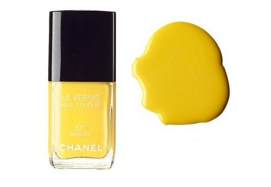 Esmaltes amarillos no aptos para todas las pieles