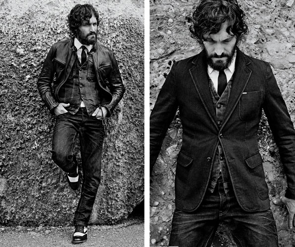 Vincent Gallo se vuelve todo denim para G-Star Raw