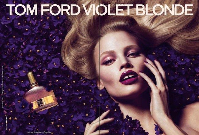 Lara Stone es Violet Blonde