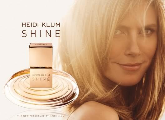 La fragancia de Heidi Klum llegará en Septiembre