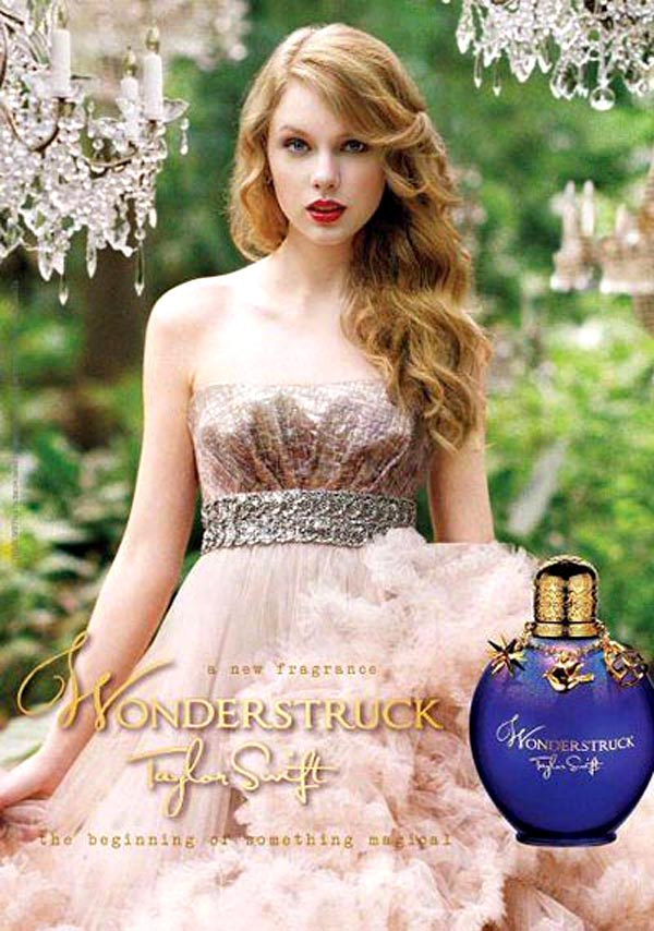 Wonderstruck, la fragancia de Taylor Swift