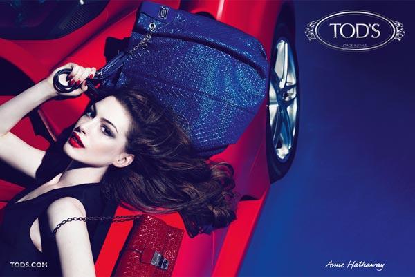 Anne Hathaway imagen para Tod's