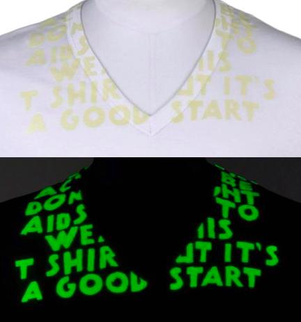 Maison Martin Margiela y su camiseta solidaria fluorescente