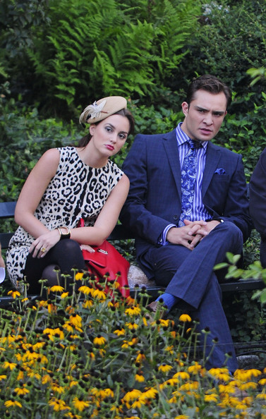 Más looks del set de Gossip Girl