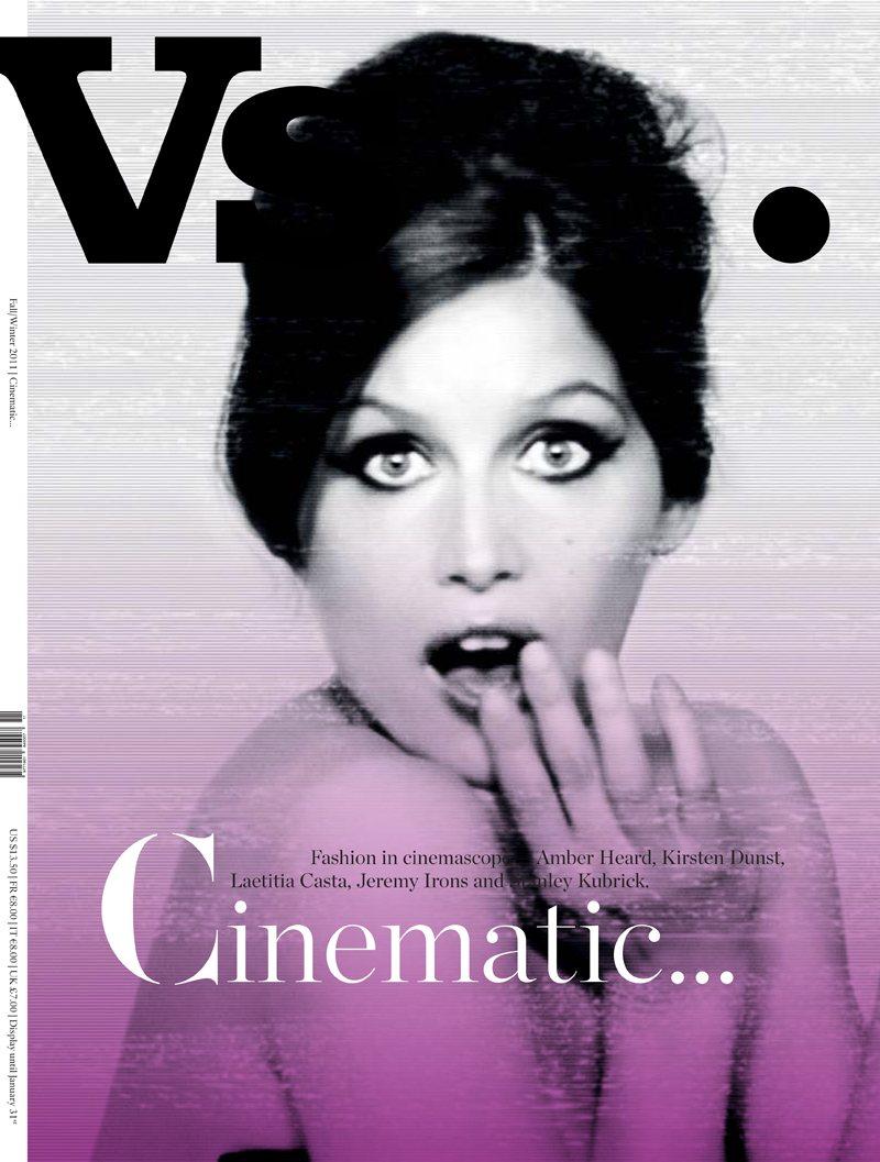 Laetitia y Kristen portadas de Vs Magazine