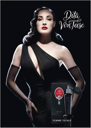 Femme Totale, el perfume de Dita Von Teese