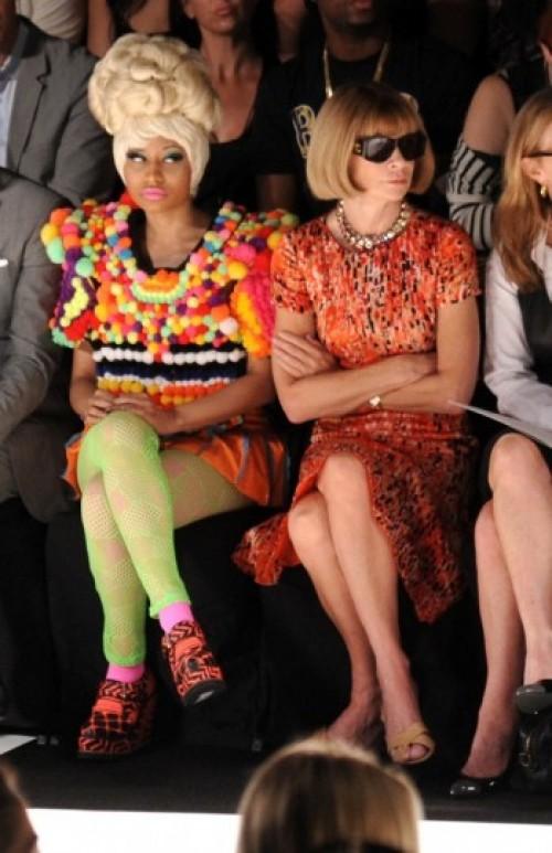 Nicki Minaj y Anna Wintour, la extraña pareja