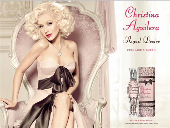 Siéntete como una reina con la nueva fragancia de Christina Aguilera