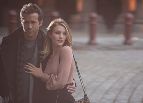 Rosie Huntington Whiteley y Ryan Reynolds, rostros de Marks and Spencer