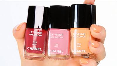 Las uñas Chanel para la primavera