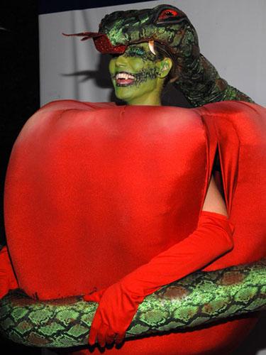 Heidi Klum es la reina del disfraz